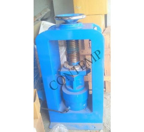 Contemp Concrete Hand Operated 100 Ton Compression Testing Machine