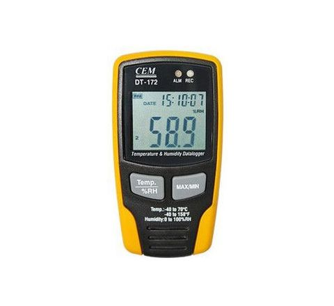 CEM DT-172 Temperature and Humidity Data Logger