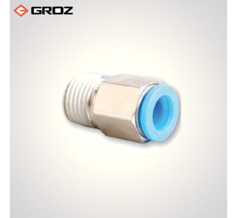 Groz 1/4 BSPT  M  One Touch Air Line Fitting WP2110851_le_ala_001