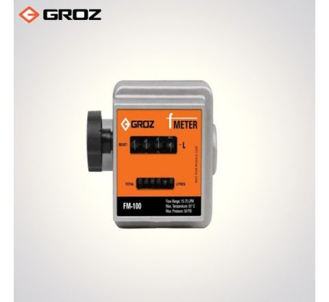 Groz 1 BSP F  High Accuracy Mechanical Fuel Meter FM 100/0 1/BSP_le_fe_019